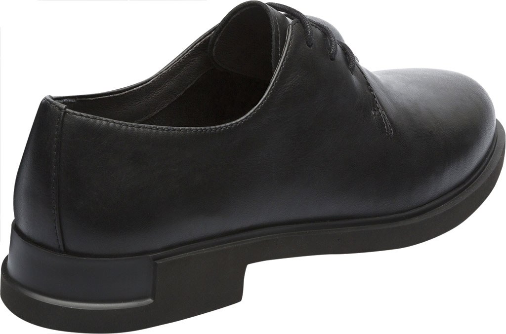 Women's Camper Iman Oxford, Black Smooth Leather, large, image 3