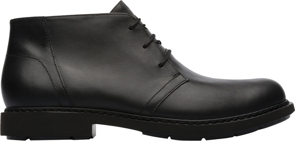 Men's Camper Mil Chukka Boot, Black Calfskin, large, image 2