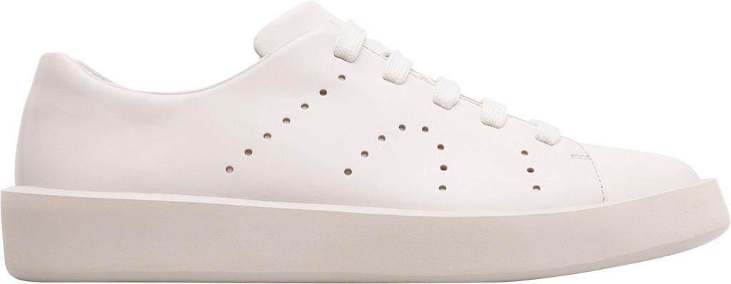 Men's Camper Courb Low Top Sneaker, Beige Smooth Leather, large, image 2