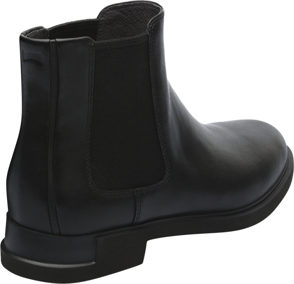 Women's Camper Iman Chelsea Boot, Black Smooth Leather, large, image 3