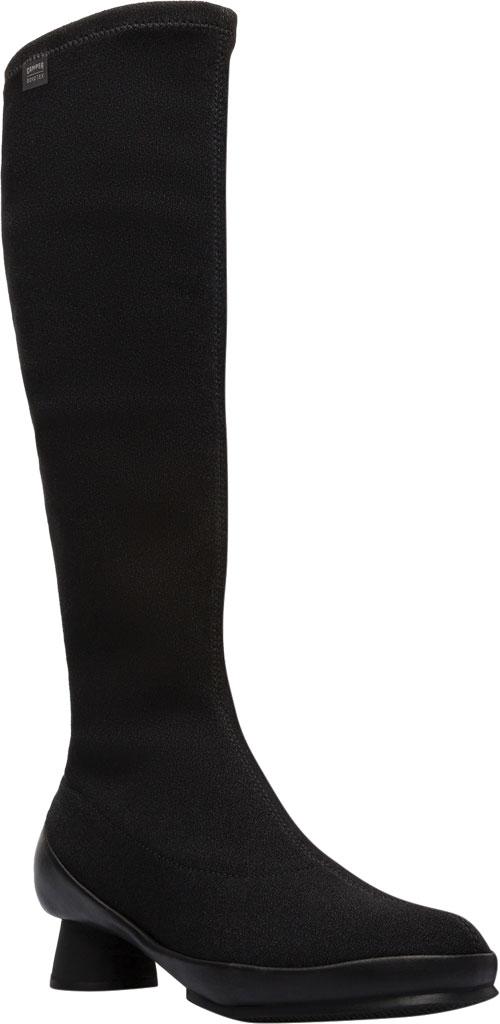 Women's Camper Alright Knee High Boot, Black Lycra, large, image 1