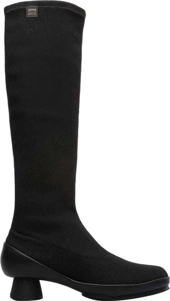 Women's Camper Alright Knee High Boot, Black Lycra, large, image 2