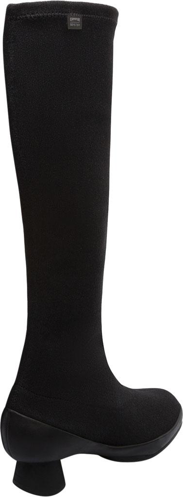 Women's Camper Alright Knee High Boot, Black Lycra, large, image 3