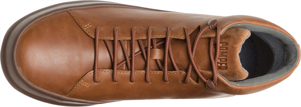 Men's Camper Chasis High Top Sneaker, Brown Calfskin, large, image 4