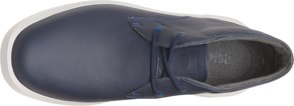 Men's Camper Bill Chukka Boot, Blue Smooth Leather, large, image 4