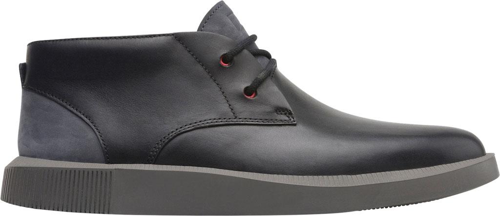 Men's Camper Bill Chukka Boot, Black Soft Leather/Nubuck, large, image 2