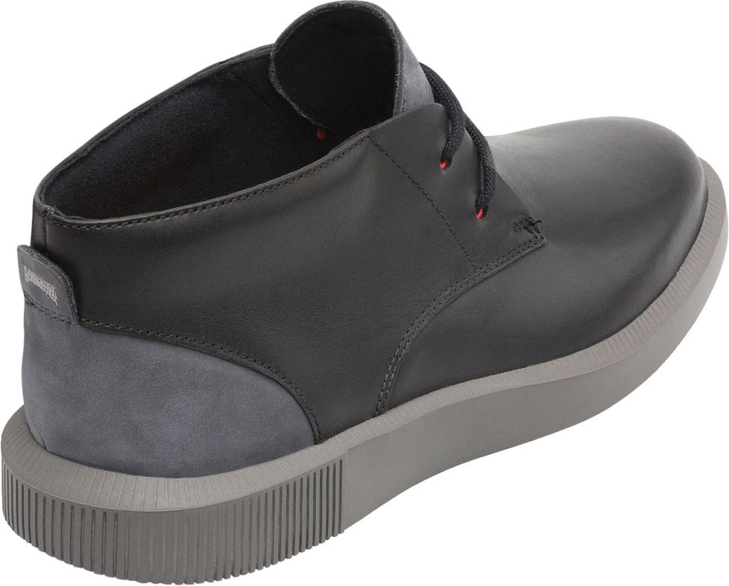 Men's Camper Bill Chukka Boot, Black Soft Leather/Nubuck, large, image 3