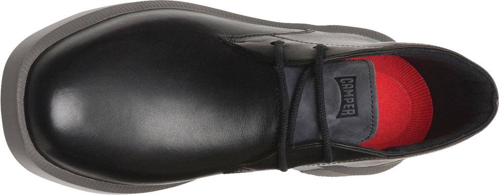 Men's Camper Bill Chukka Boot, Black Soft Leather/Nubuck, large, image 4