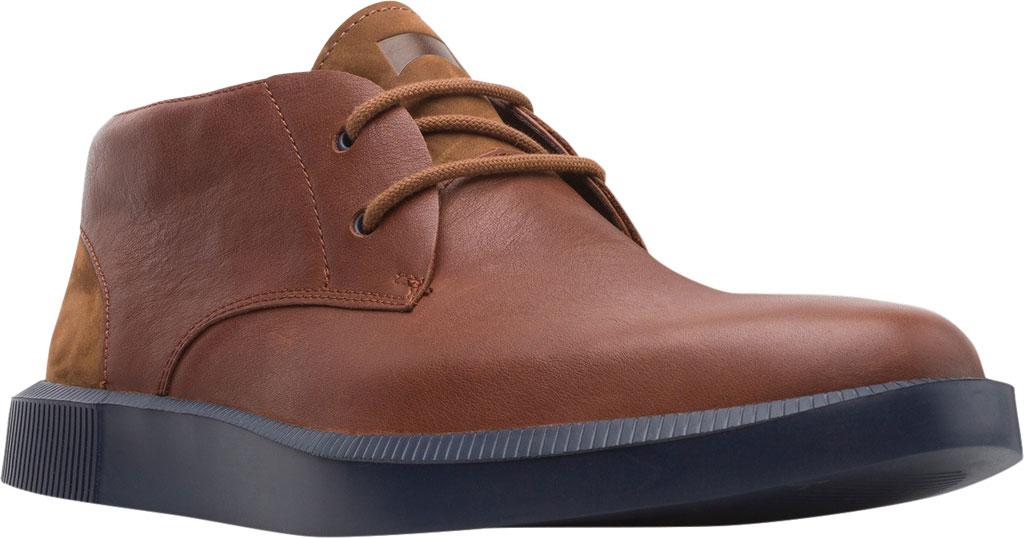 Men's Camper Bill Chukka Boot, Brown Soft Leather/Nubuck, large, image 1