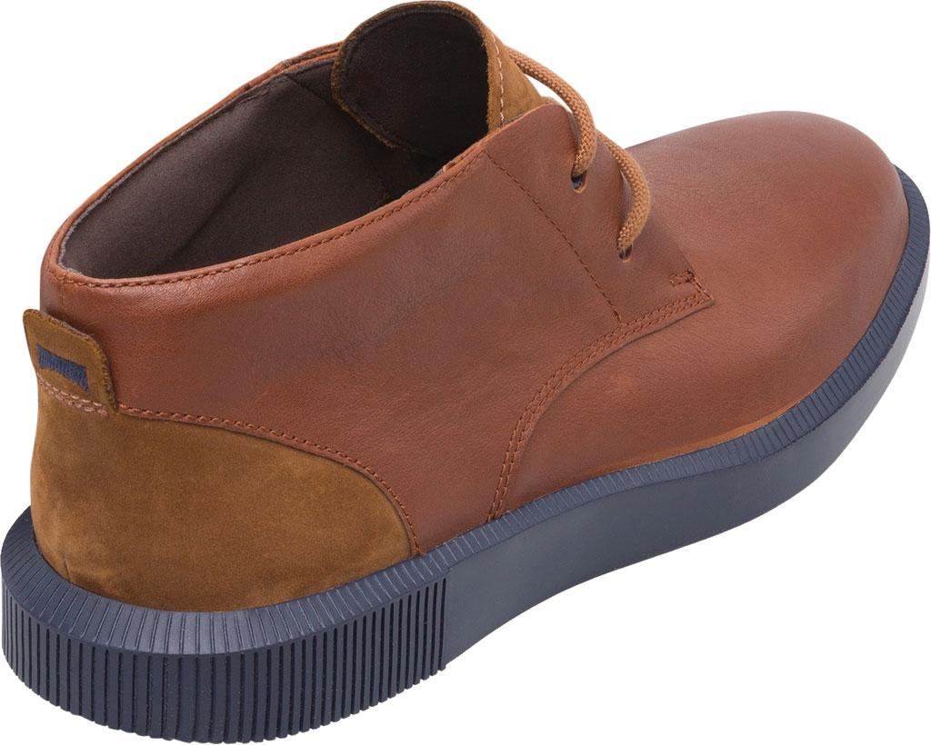 Men's Camper Bill Chukka Boot, Brown Soft Leather/Nubuck, large, image 3