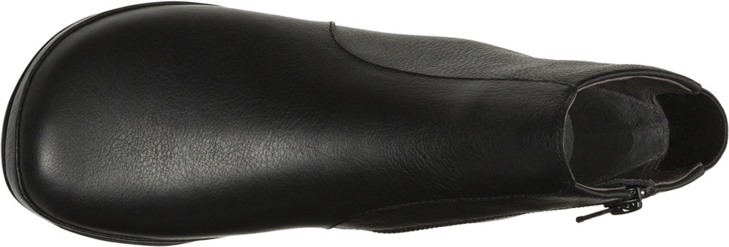 Women's Camper Right Ankle Boot, Black Smooth Leather, large, image 4