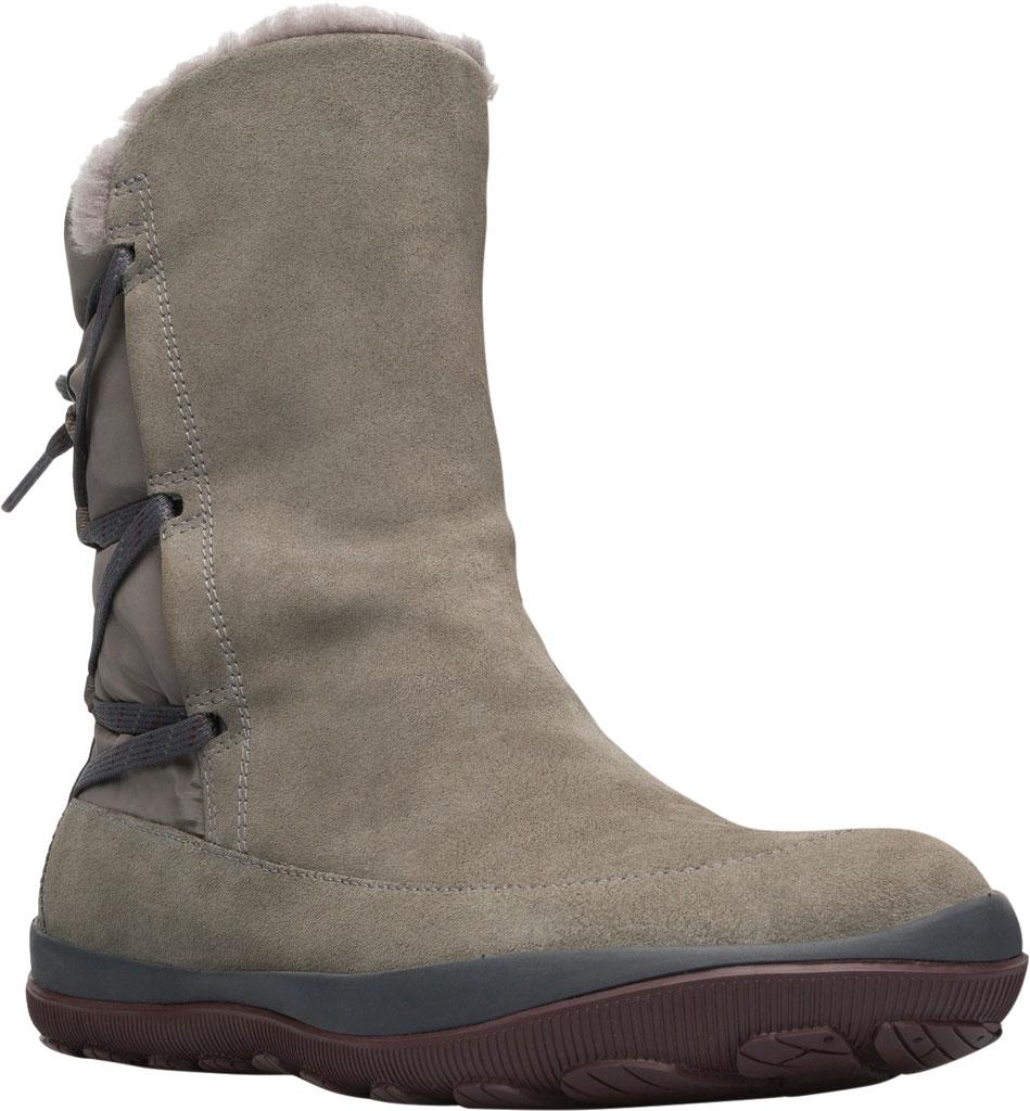 Women's Camper Peu Pista Winter Boot, Grey Nubuck/Technical Fabric, large, image 1