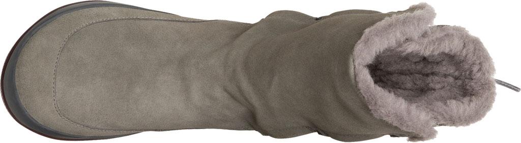 Women's Camper Peu Pista Winter Boot, Grey Nubuck/Technical Fabric, large, image 4