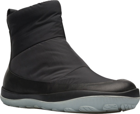 Women's Camper Peu Pista Pull-On Winter Boot, Black Technical Fabric/Polyester, large, image 1