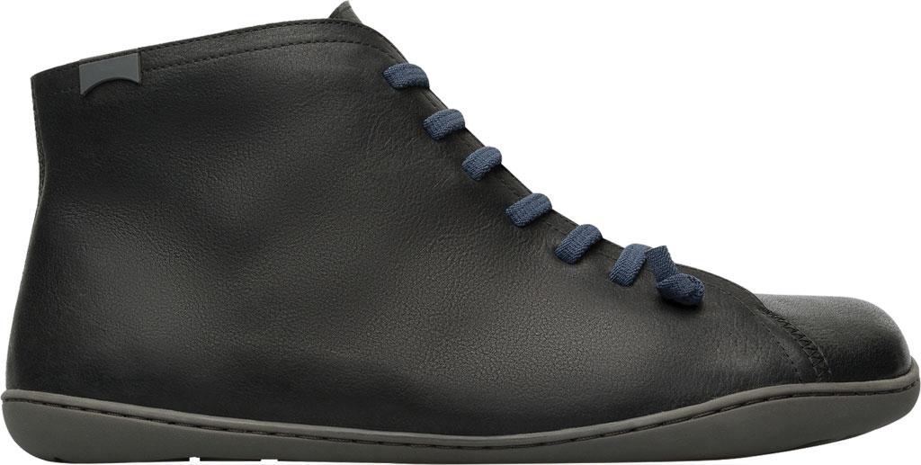 Men's Camper Peu High Top Sneaker, Black Vegetal Tanned Calfskin, large, image 2