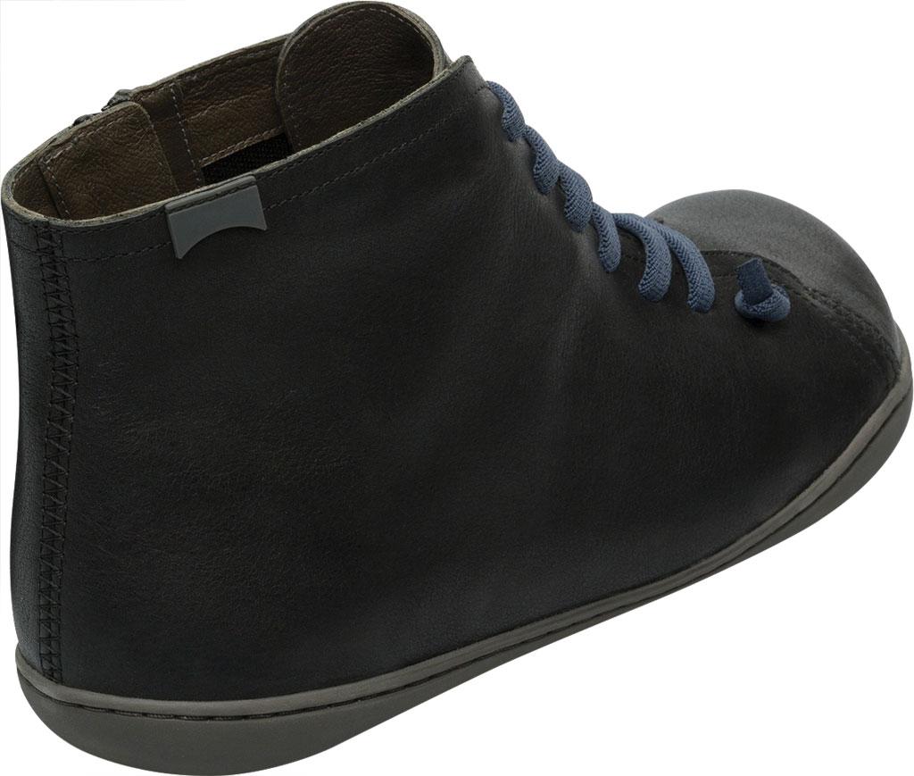 Men's Camper Peu High Top Sneaker, Black Vegetal Tanned Calfskin, large, image 3