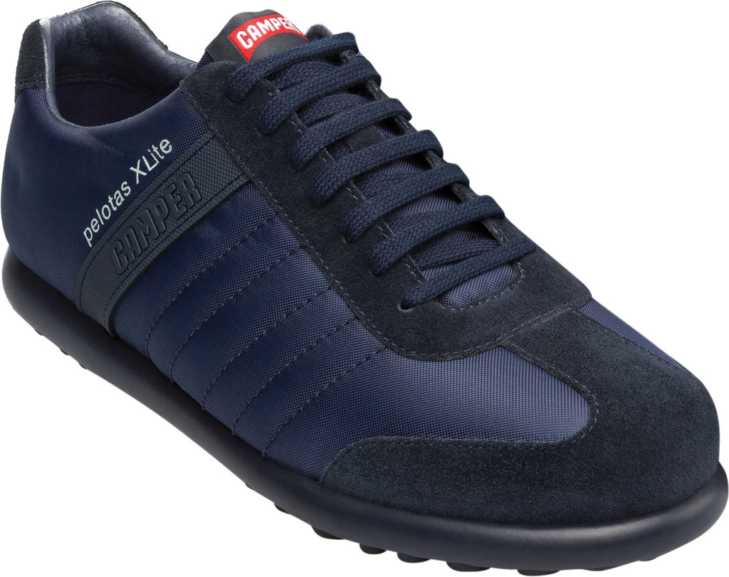 Men's Camper Pelotas XLite Low Top Sneaker, Blue Polyester, large, image 1