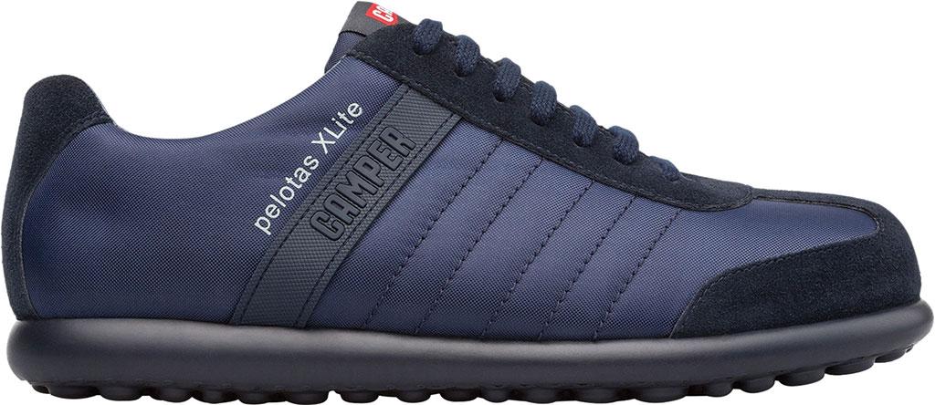 Men's Camper Pelotas XLite Low Top Sneaker, Blue Polyester, large, image 2