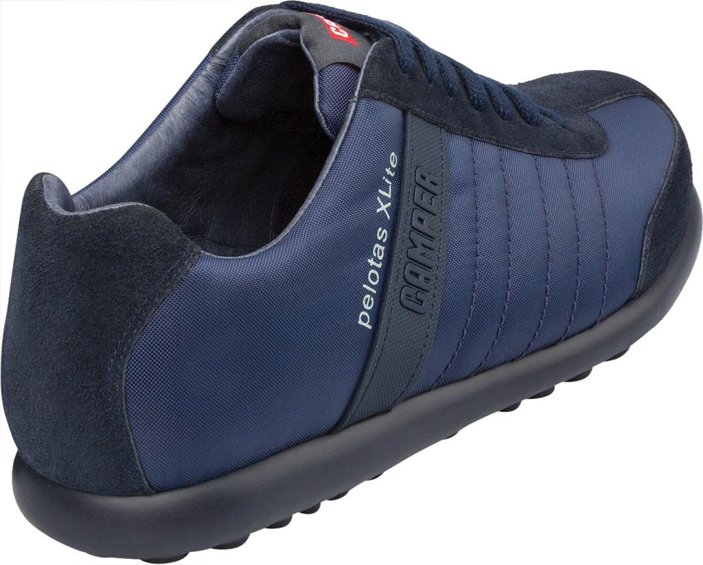 Men's Camper Pelotas XLite Low Top Sneaker, Blue Polyester, large, image 3