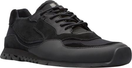 Men's Camper Nothing Sneaker, Black Polyester/Nubuck/Calfskin, large, image 1