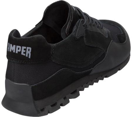 Men's Camper Nothing Sneaker, Black Polyester/Nubuck/Calfskin, large, image 3