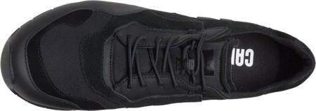 Men's Camper Nothing Sneaker, Black Polyester/Nubuck/Calfskin, large, image 4