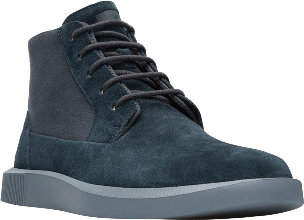 Men's Camper Bill Ankle Boot, Charcoal Nubuck/Natural Cotton, large, image 1