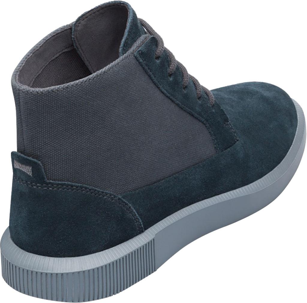 Men's Camper Bill Ankle Boot, Charcoal Nubuck/Natural Cotton, large, image 3
