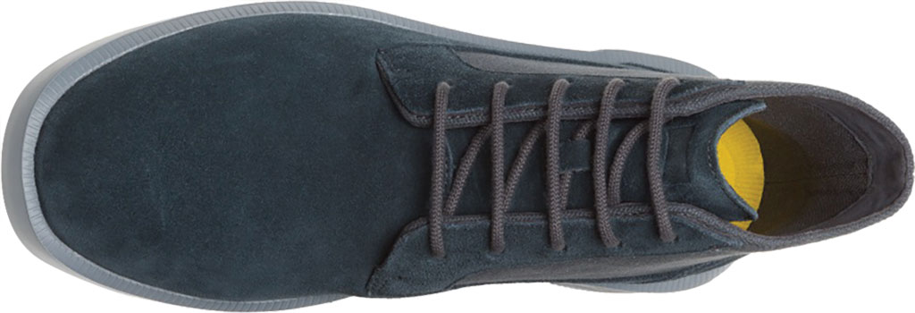 Men's Camper Bill Ankle Boot, Charcoal Nubuck/Natural Cotton, large, image 4
