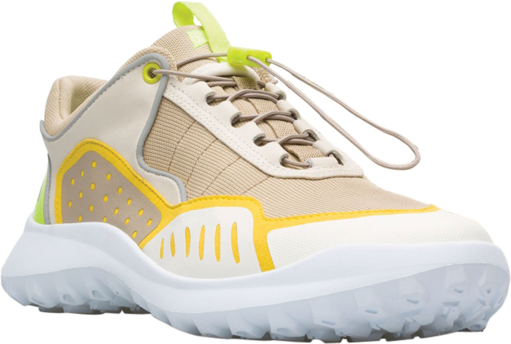 Men's Camper CRCLR GORE-TEX Sneaker, Beige/Multi Polyester/Calfskin, large, image 1