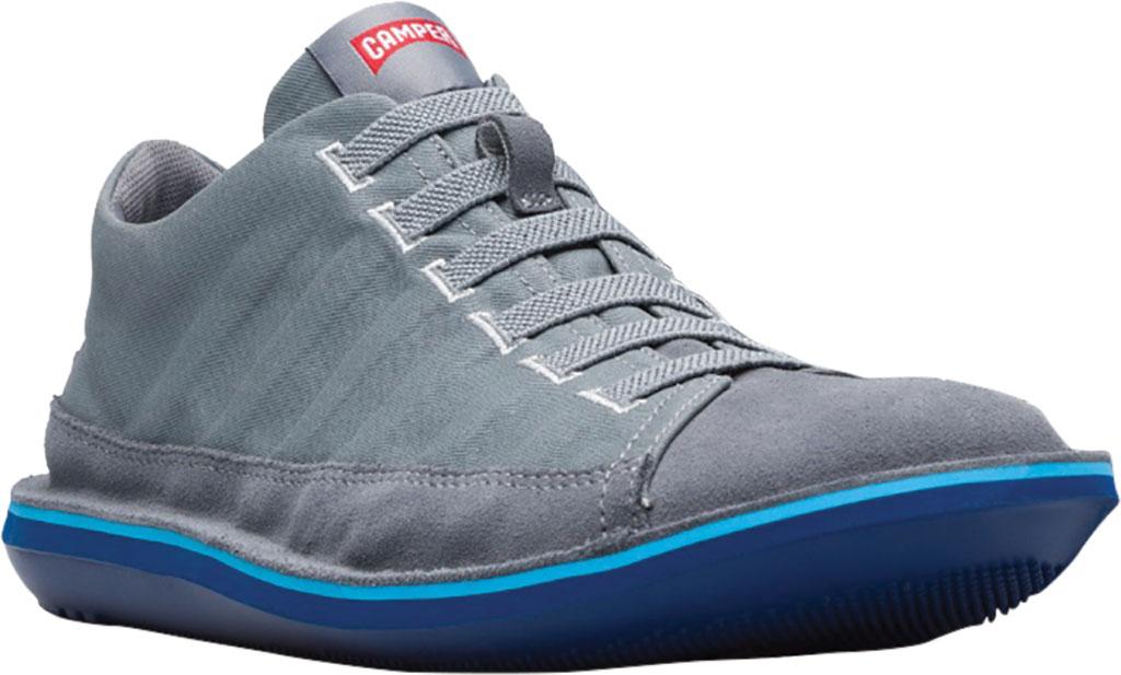 Men's Camper Beetle Lined Sneaker, Medium Gray Cotton/Nubuck, large, image 1