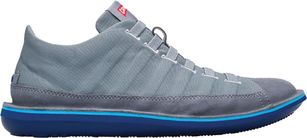 Men's Camper Beetle Lined Sneaker, Medium Gray Cotton/Nubuck, large, image 2