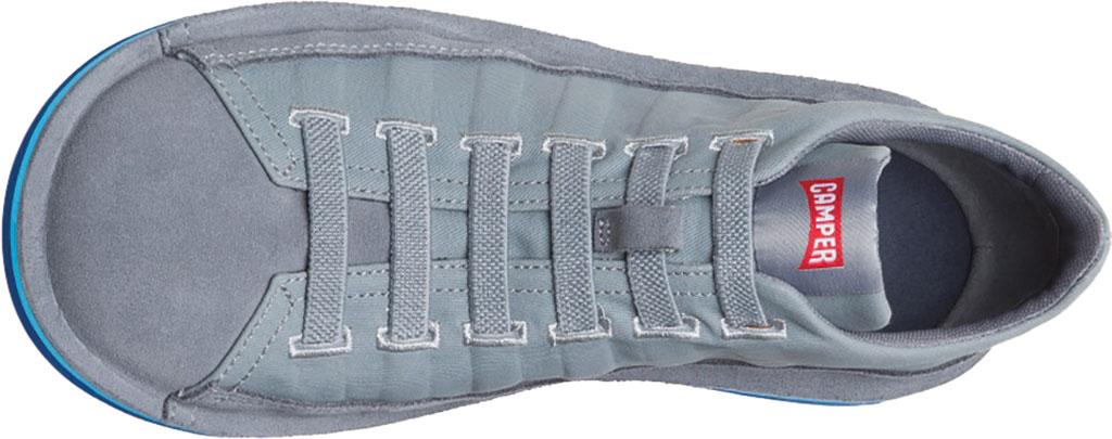 Men's Camper Beetle Lined Sneaker, Medium Gray Cotton/Nubuck, large, image 4