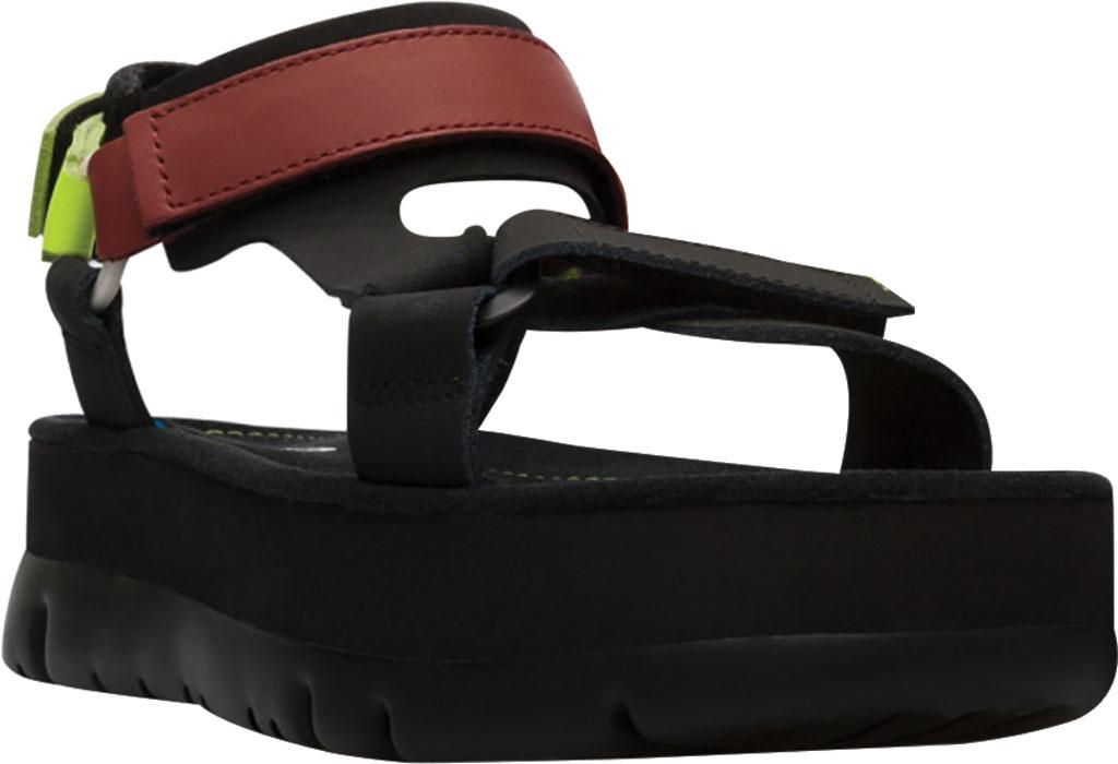 Women's Camper Oruga Up Platform Sport Sandal, Black/Multi Calfskin, large, image 1