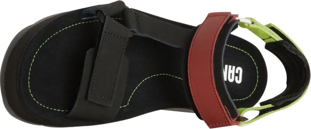 Women's Camper Oruga Up Platform Sport Sandal, Black/Multi Calfskin, large, image 4