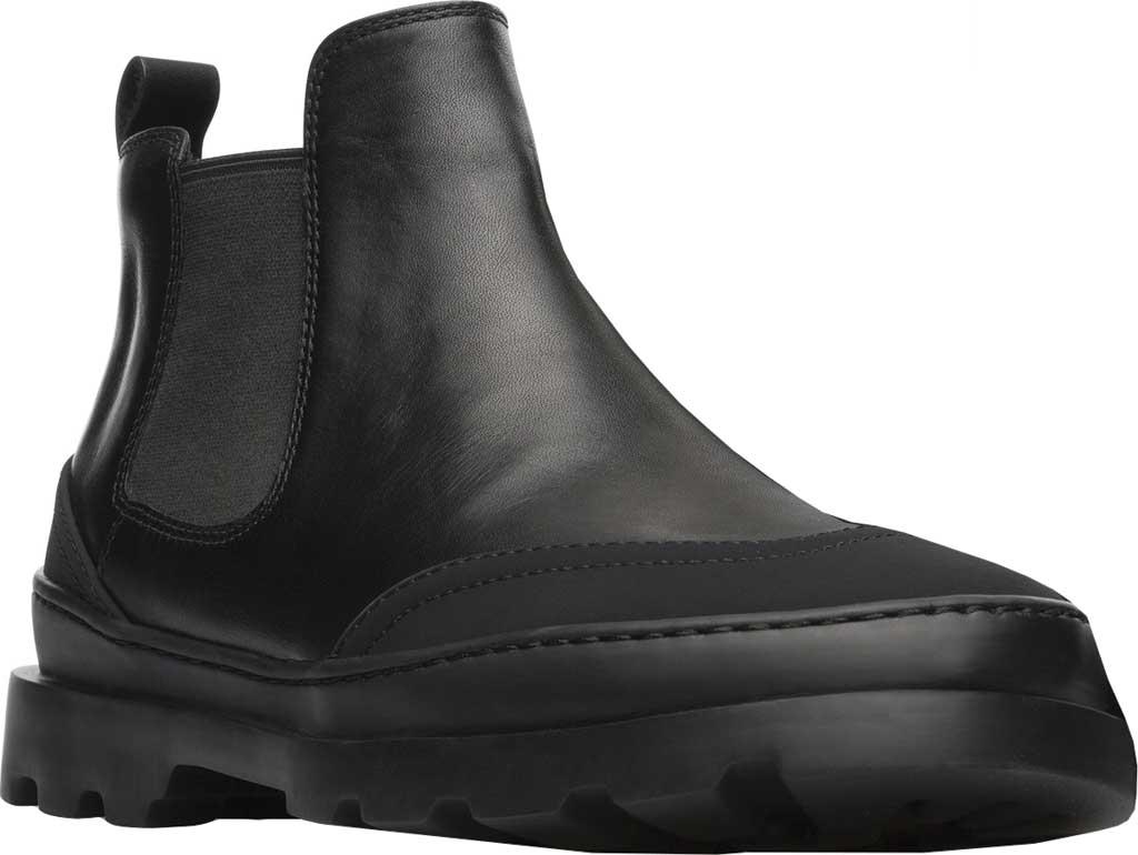 Women's Camper Brutus Chelsea Boot, Black Calfskin, large, image 1