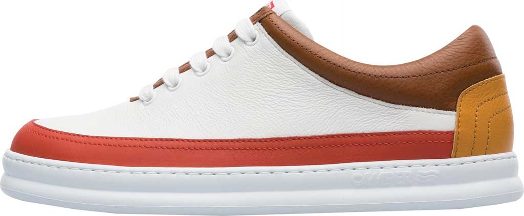 Men's Camper Twins Leather Sneaker, Multicolor Calfskin, large, image 3