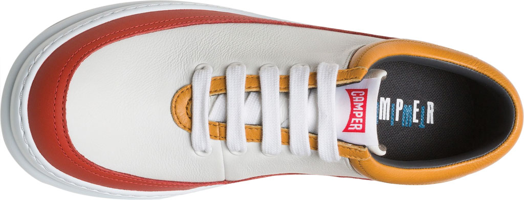 Men's Camper Twins Leather Sneaker, Multicolor Calfskin, large, image 5