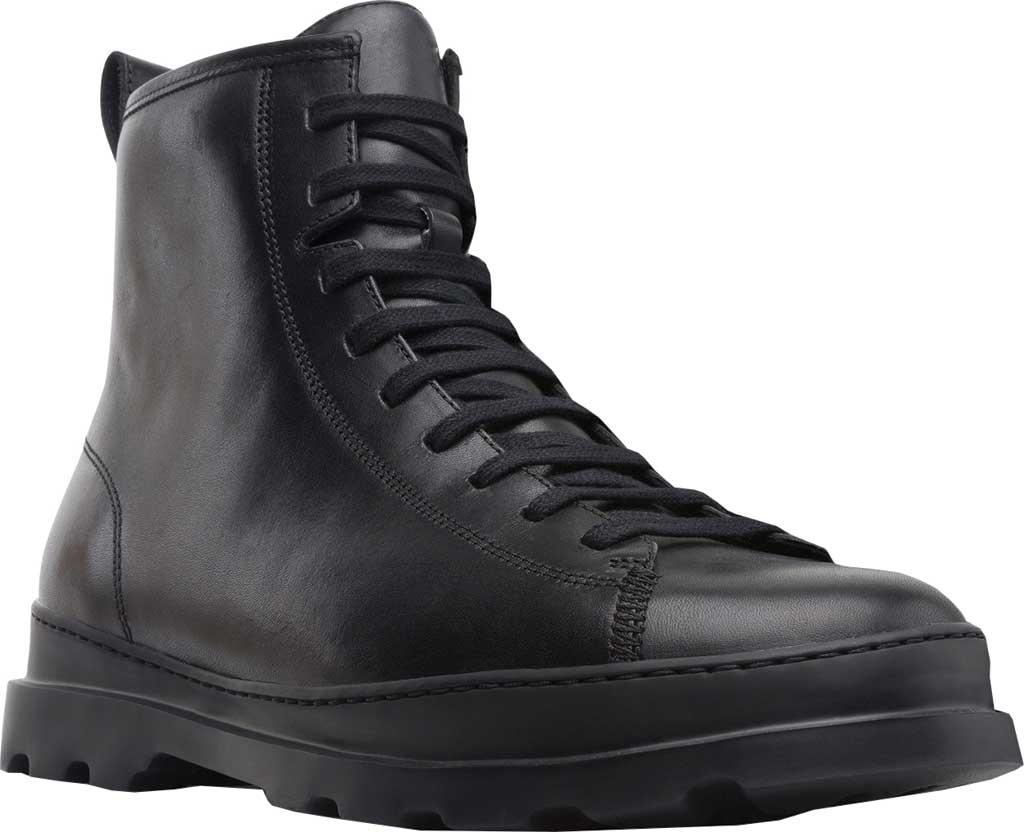 Men's Camper Brutus Combat Ankle Boot, Black Calfskin, large, image 1