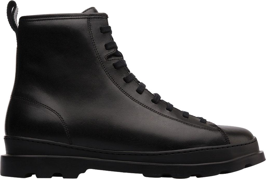 Men's Camper Brutus Combat Ankle Boot, Black Calfskin, large, image 2