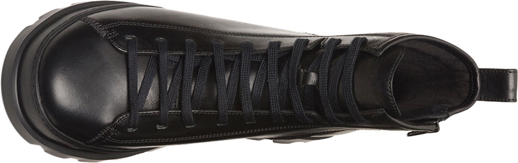 Men's Camper Brutus Combat Ankle Boot, Black Calfskin, large, image 4