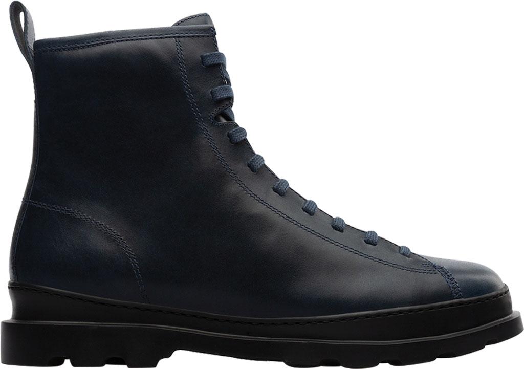 Men's Camper Brutus Combat Ankle Boot, Blue Calfskin, large, image 2