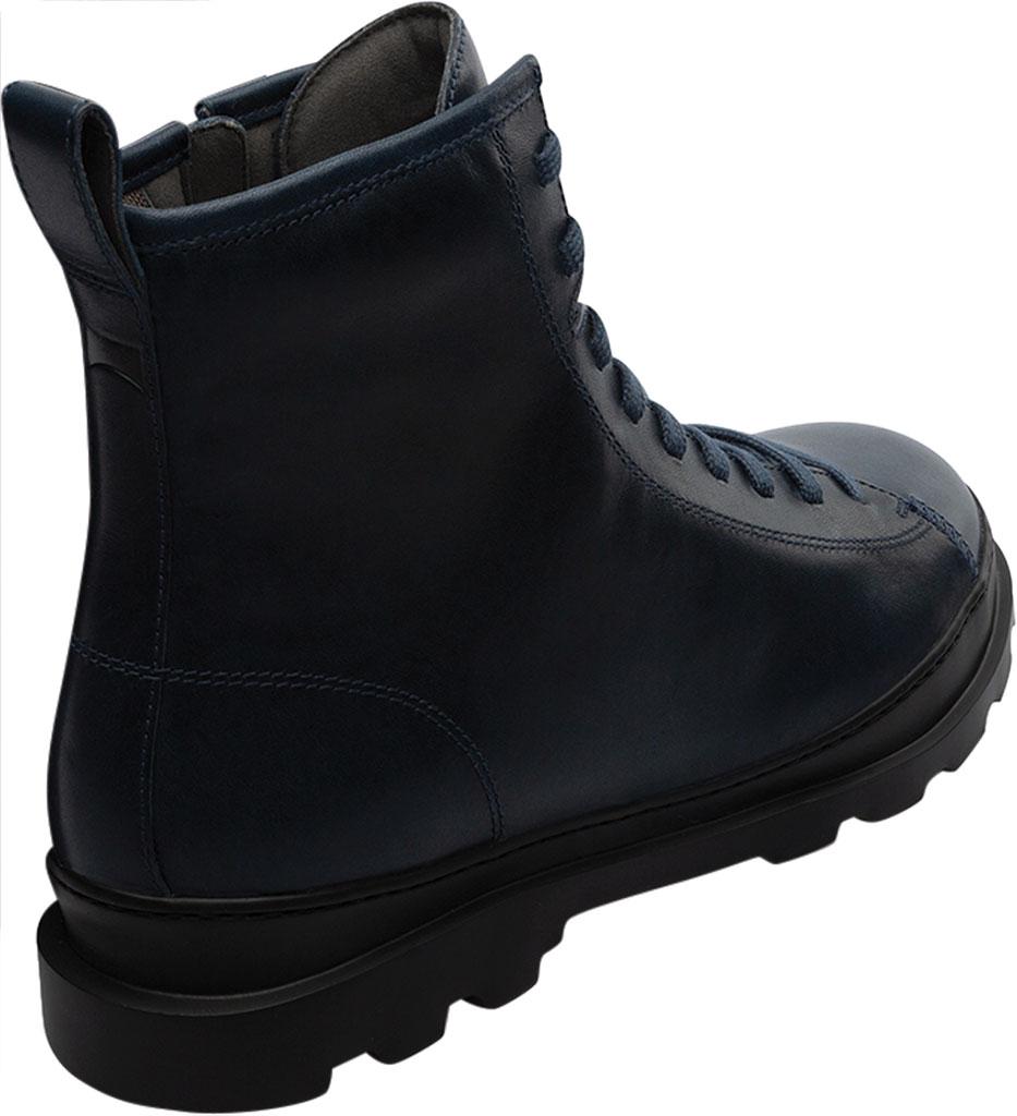Men's Camper Brutus Combat Ankle Boot, Blue Calfskin, large, image 3
