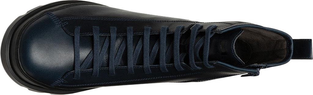 Men's Camper Brutus Combat Ankle Boot, Blue Calfskin, large, image 4