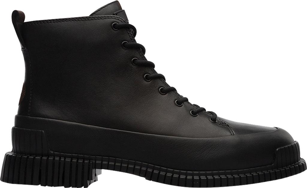 Women's Camper Pix Combat Boot, Black Calfskin, large, image 2