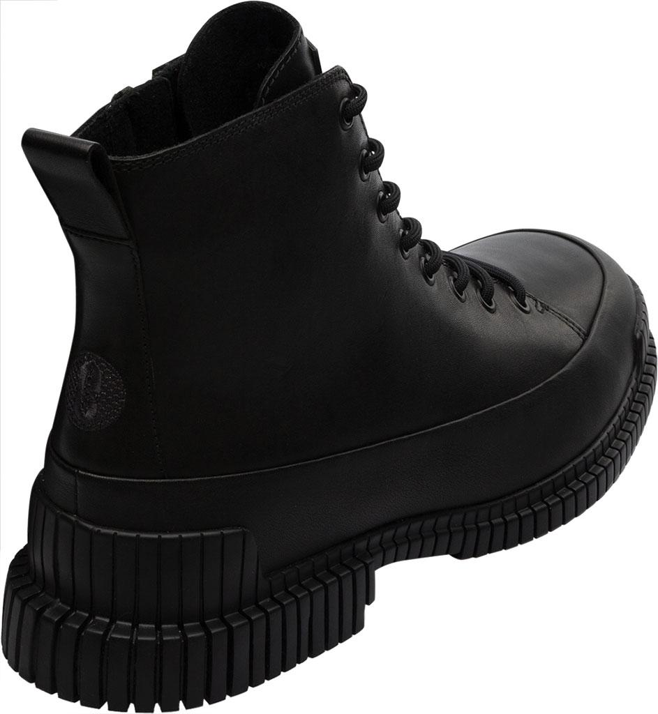 Women's Camper Pix Combat Boot, Black Calfskin, large, image 3