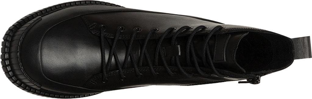 Women's Camper Pix Combat Boot, Black Calfskin, large, image 4