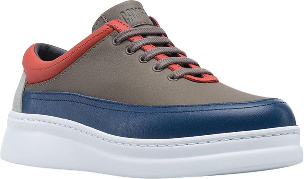Women's Camper Twins Color Block Sneaker, Grey/Multicolor Calfskin, large, image 1