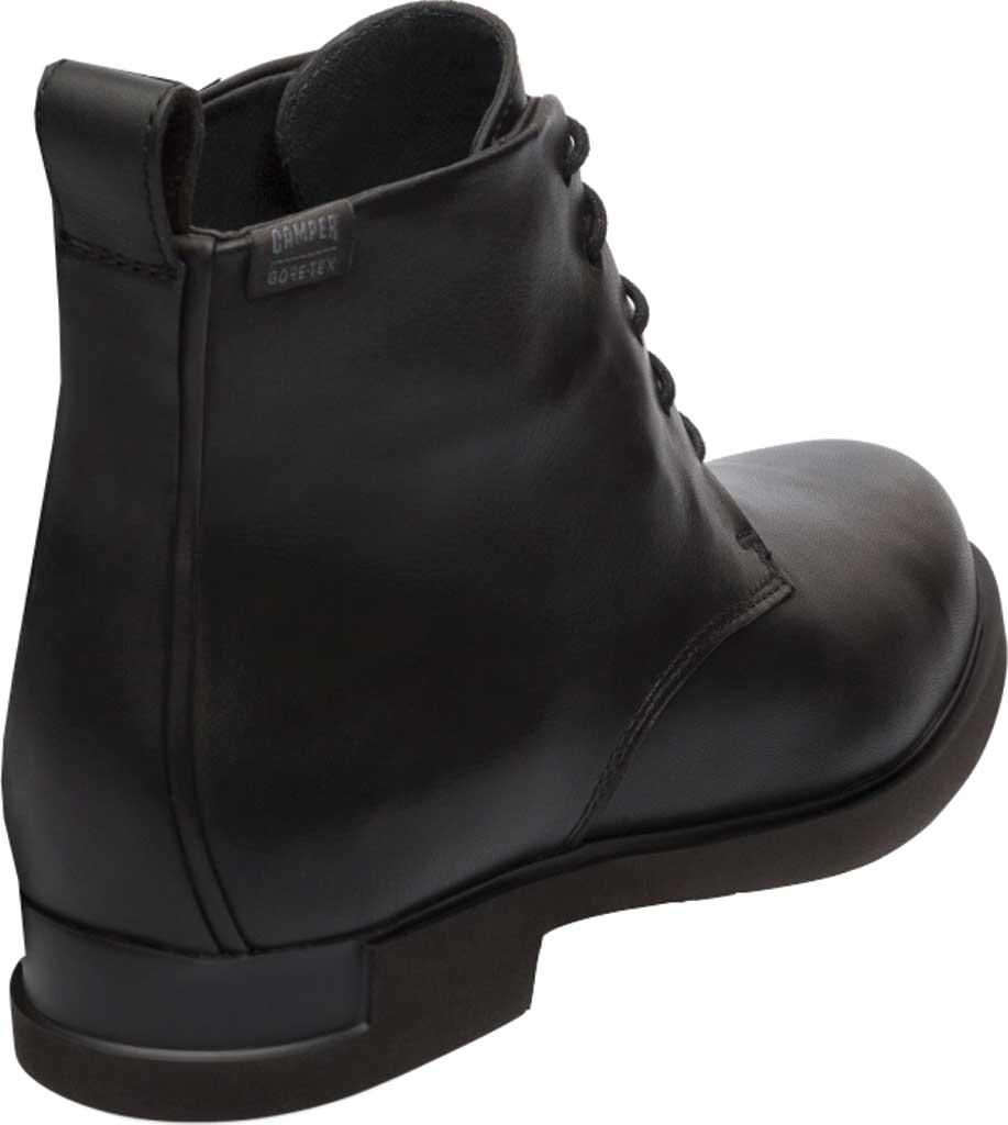 Women's Camper Iman Waterproof Combat Bootie, Black Full Grain Leather, large, image 3