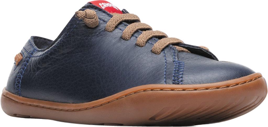 Boys' Camper Peu Sneaker - Little Kid, Blue Calf Full Grain Leather, large, image 1
